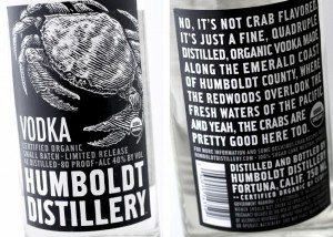 Lots of talk about crabs, but really, just good vodka.